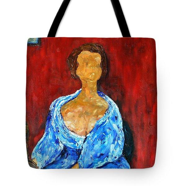 Art Study Tote Bag