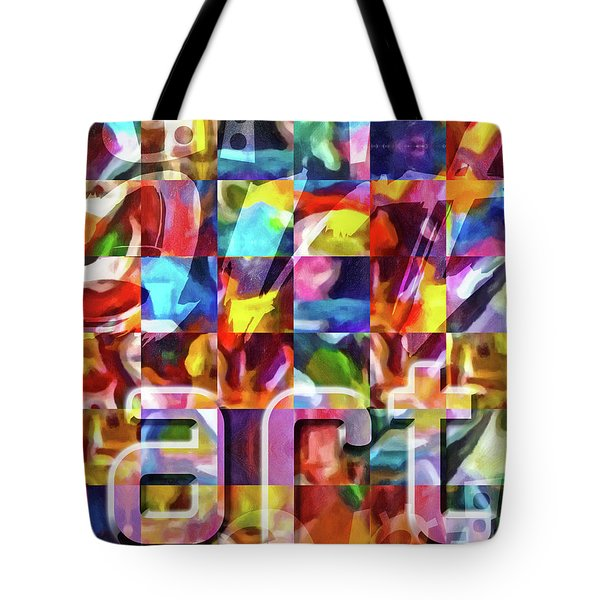 Art Type Tote Bag