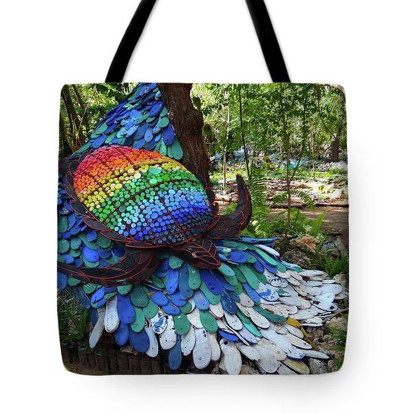Art With Recycling - Turtle Tote Bag by Exploramum Exploramum