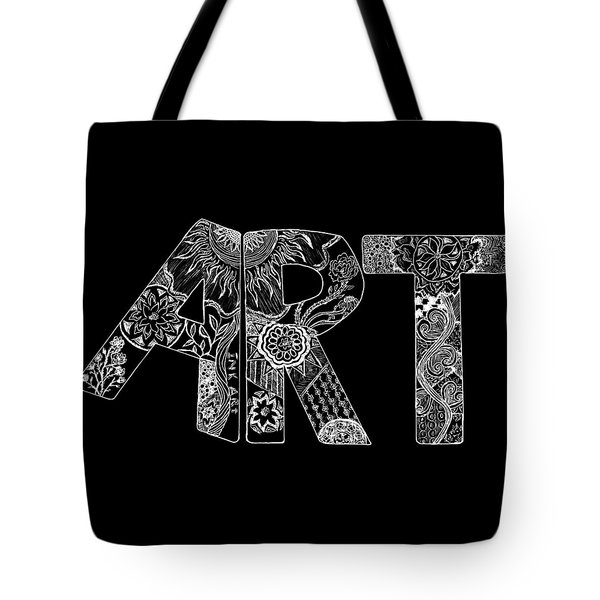 Art Within Art Tote Bag by Samantha Thome