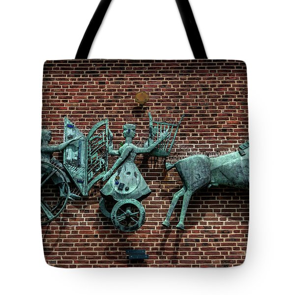 Art Work In Ystad, Sweden Tote Bag