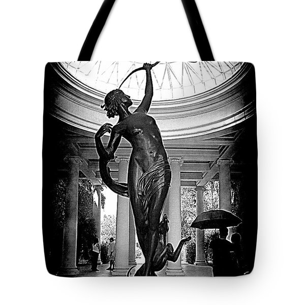 Tote Bag featuring the photograph Artemis At Huntington Library by Lori Seaman