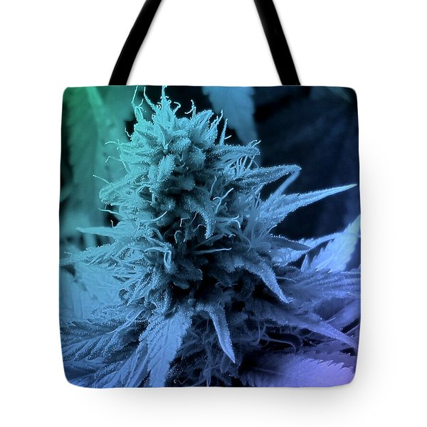 Artful Oasis Macro Abstract 112216.5 Tote Bag