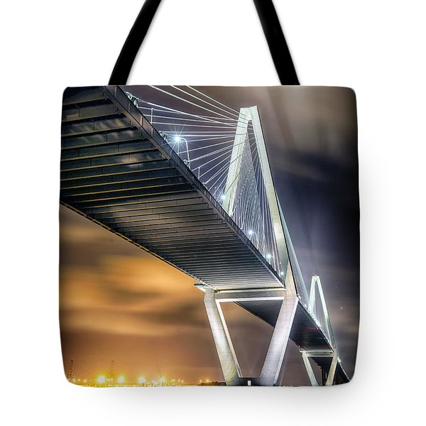 Arthur Ravenel Jr. Bridge Tote Bag by Alan Raasch