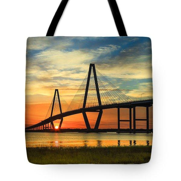 Arthur Ravenel Jr. Bridge - Charleston Sc Tote Bag