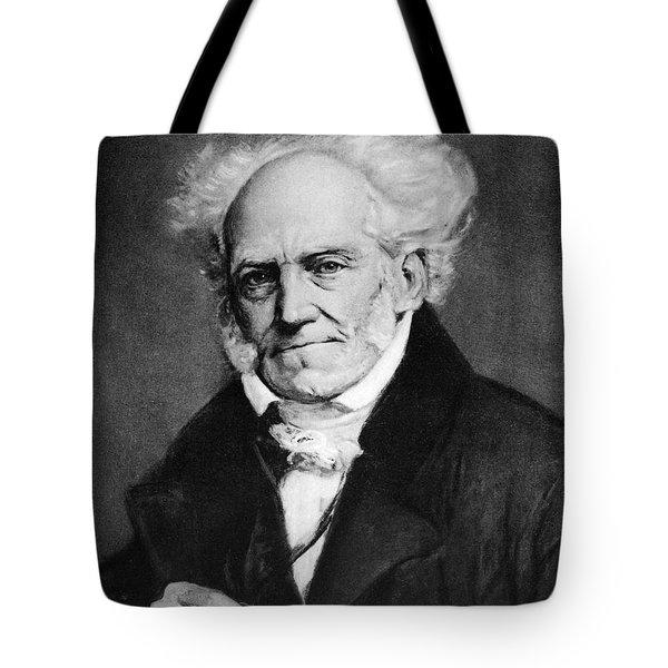 Arthur Schopenhauer Tote Bag by Granger