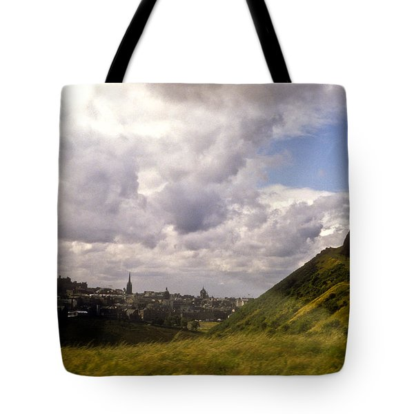 Arthurs Seat Edinburgh Tote Bag