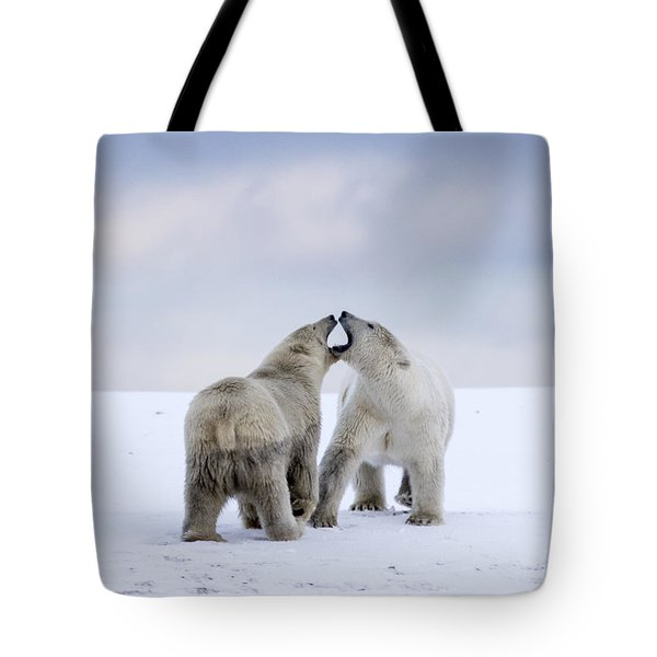 Artic Antics Tote Bag