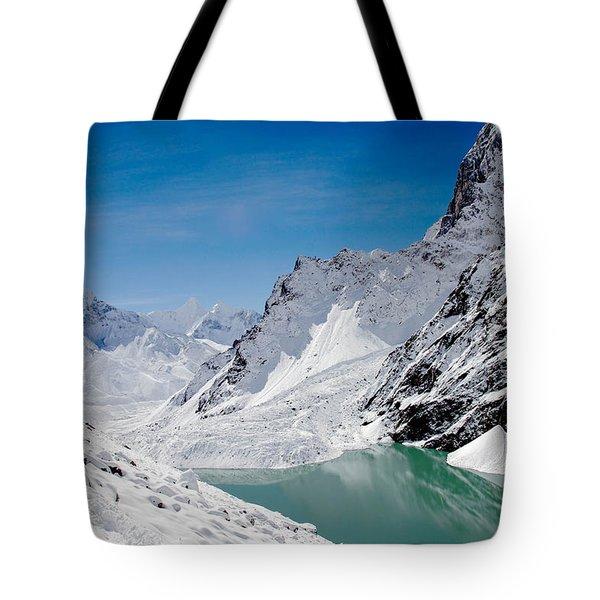 Artic Landscape Tote Bag