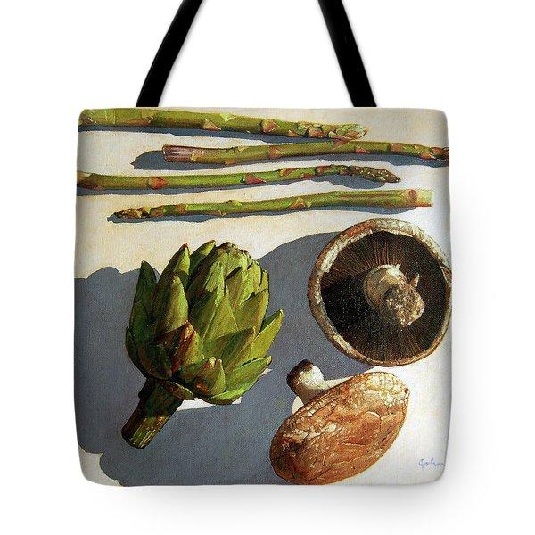 Artichoke And Friends Tote Bag