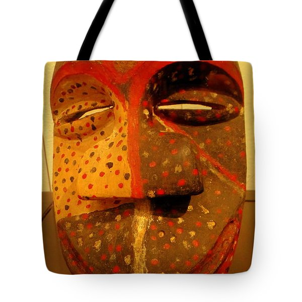 Artifact Mask Of Angola Tote Bag
