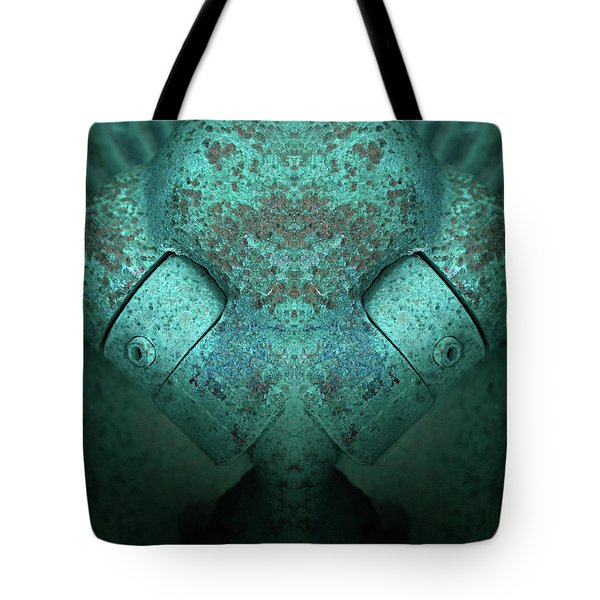Tote Bag featuring the photograph Artifact by WB Johnston