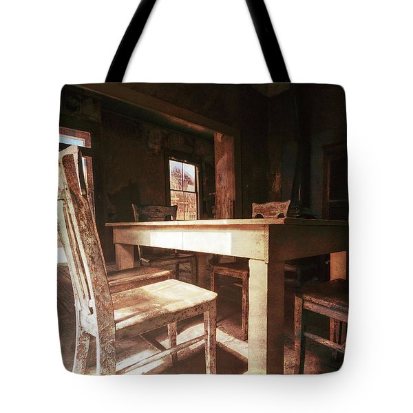 Tote Bag featuring the photograph Artifacts by Sharon Seaward