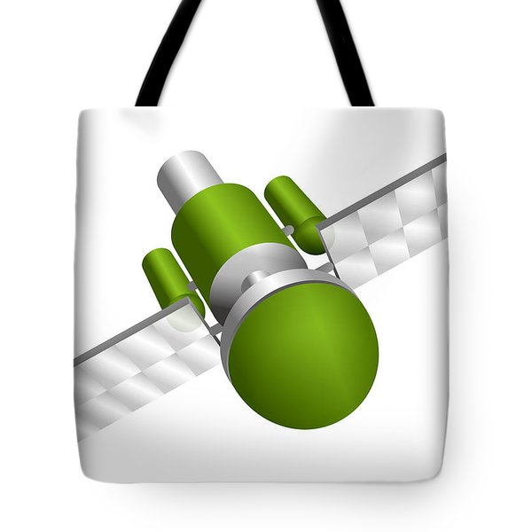 Artificial Satellite Tote Bag