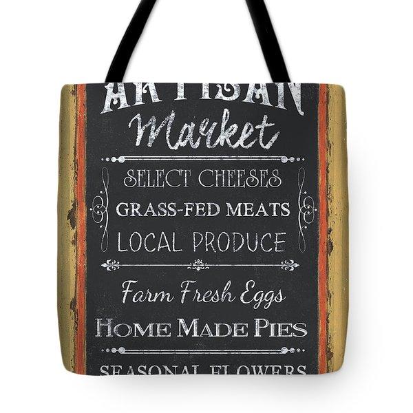 Artisan Market Sign Tote Bag