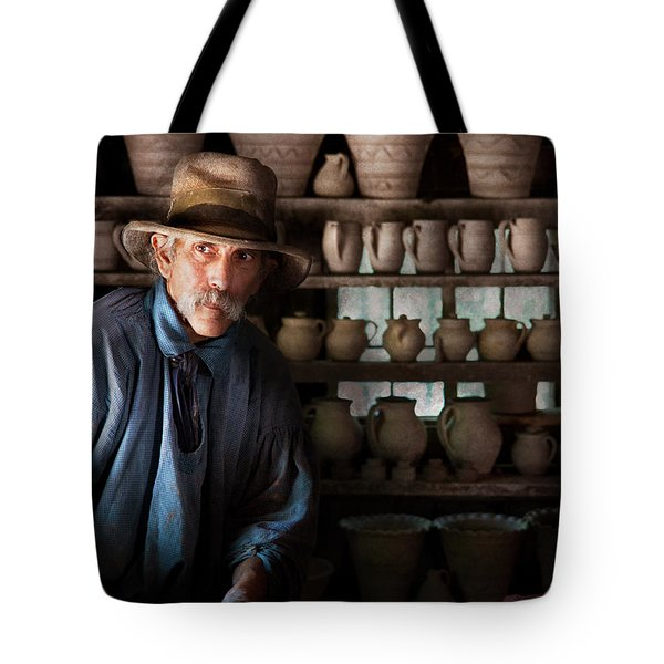Artist - Potter - The Potter II Tote Bag by Mike Savad