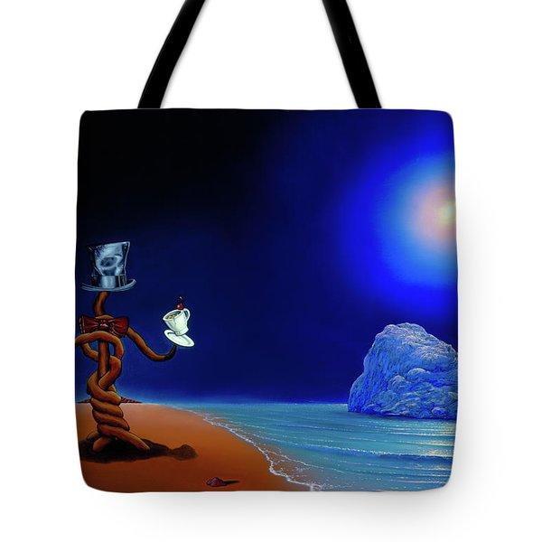 Artist Conversing Tote Bag