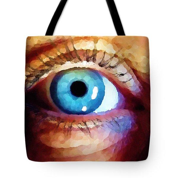 Artist Eye View Tote Bag