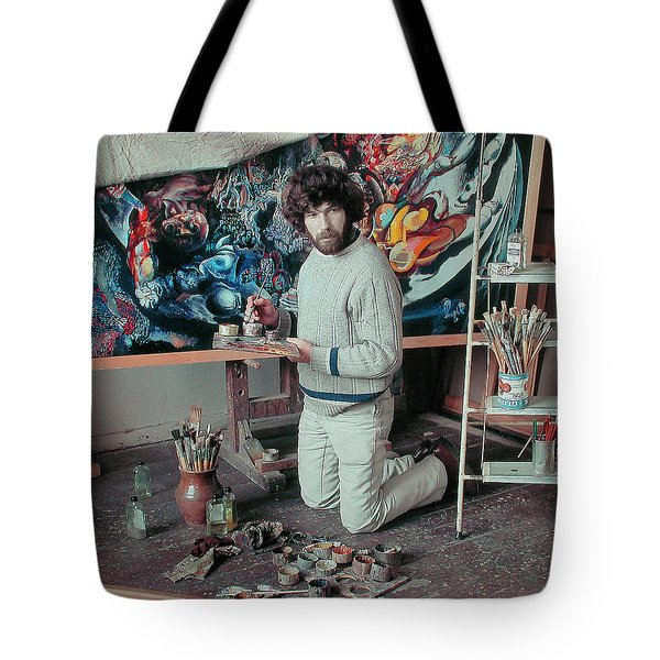 Artist In His Studio Tote Bag