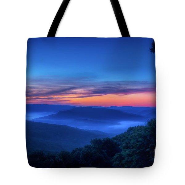 Artist Point Sunrise Tote Bag