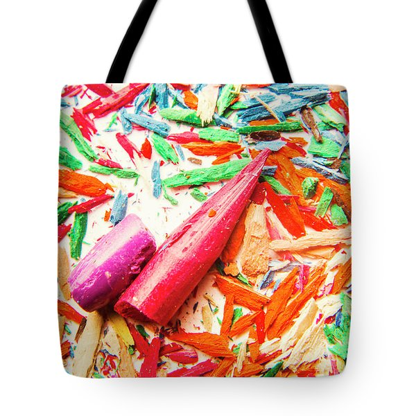 Artistic Disruption Tote Bag