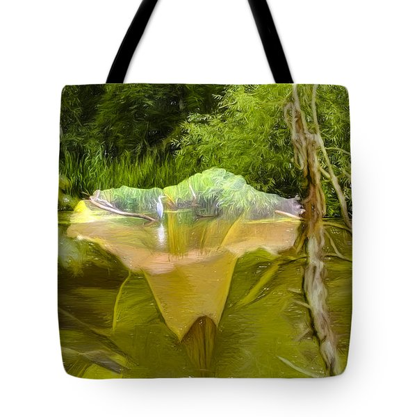 Artistic Double Tote Bag by Leif Sohlman