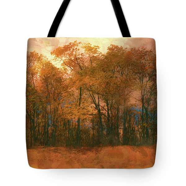 Artistic Fall Colors In The Blue Ridge Fx Tote Bag