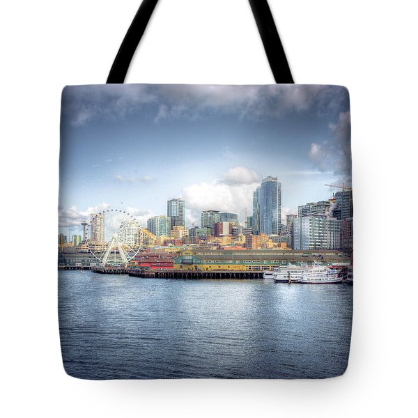 Artistic In Seattle Tote Bag