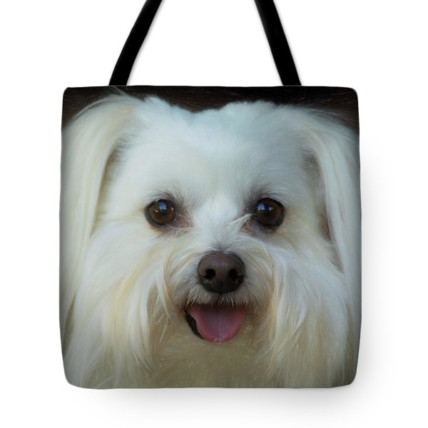 Artistic Puppy Tote Bag