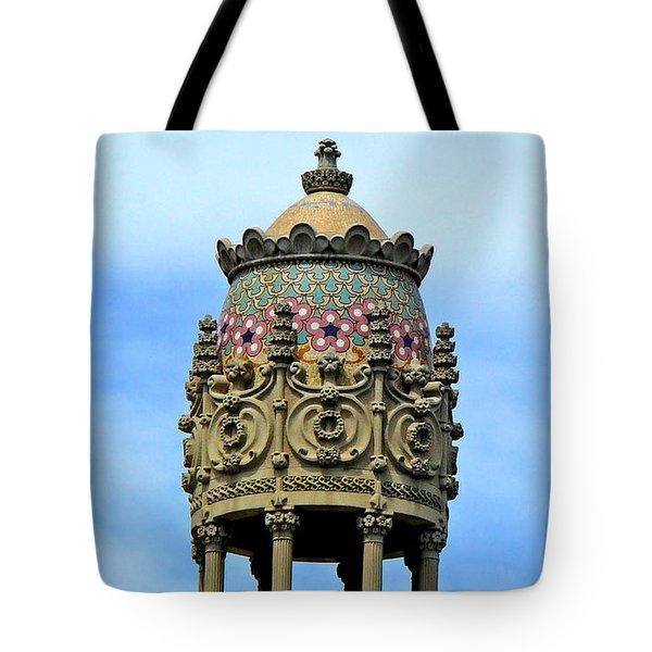 Artistic Roof Tote Bag
