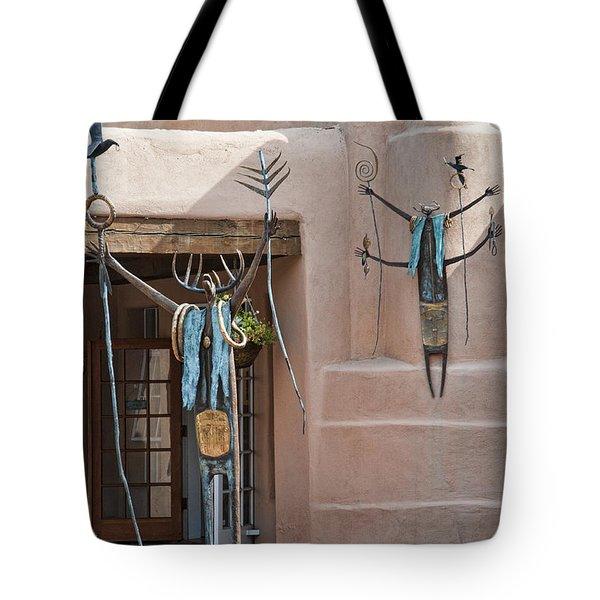 Artistic Santa Fe Tote Bag
