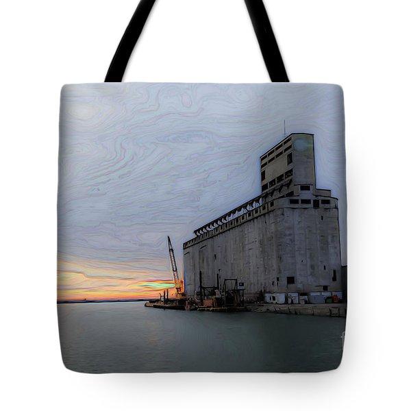 Artistic Sunset Tote Bag