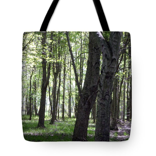 Tote Bag featuring the photograph Artistic Tree Original by MicA
