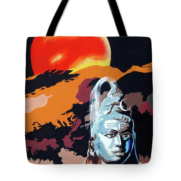 Artistic Vision Of The Almighty Tote Bag