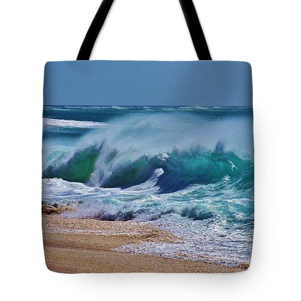 Artistic Wave Tote Bag by Craig Wood