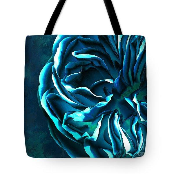 Artistique Rose Blue Tote Bag