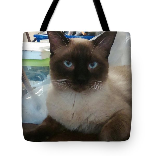 Artist's Assistant Tote Bag by Sheri Keith