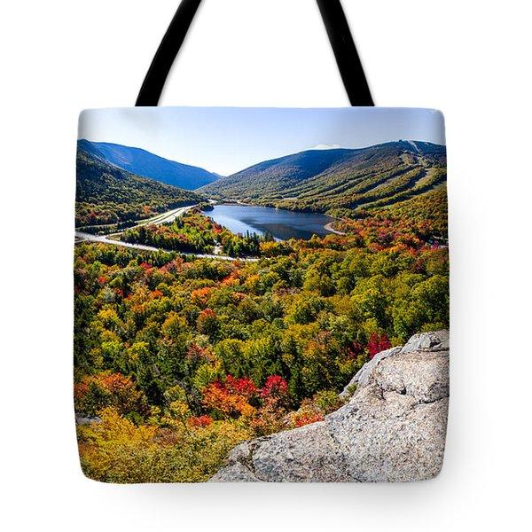 Artists Bluff, Franconia Notch Tote Bag
