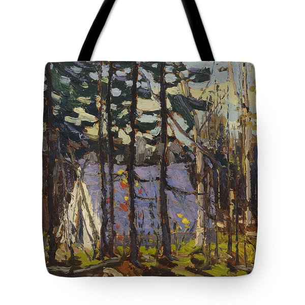 Artist's Camp, Canoe Lake, Algonquin Park Tote Bag
