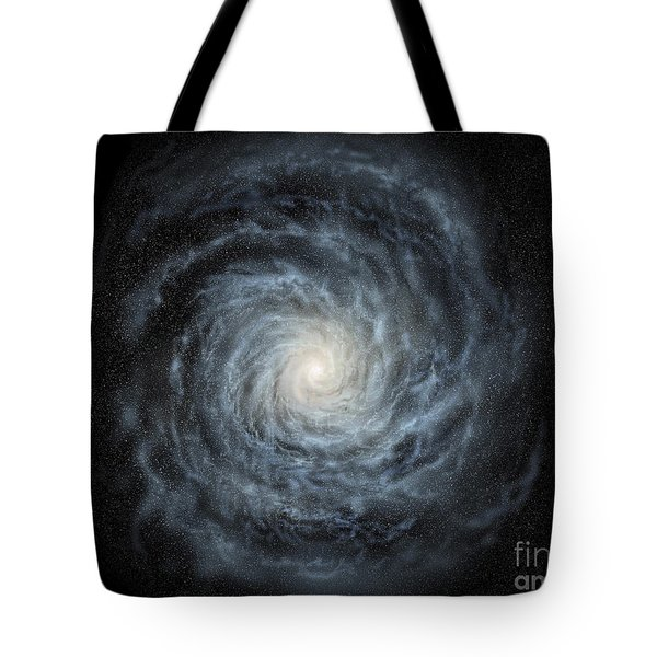 Artists Concept Of A Face-on View Tote Bag by Ron Miller