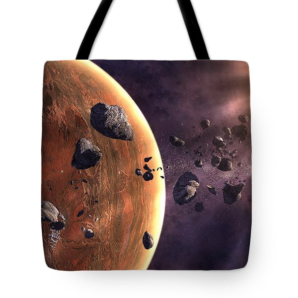 Artists Concept Of A Supernova Tote Bag by Frieso Hoevelkamp