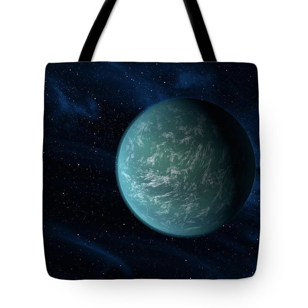 Artists Concept Of Kepler 22b, An Tote Bag by Stocktrek Images