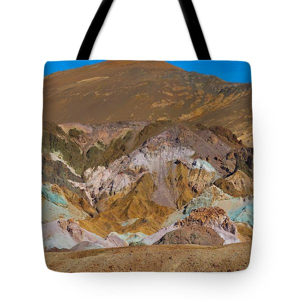 Artists Palette At Death Valley Tote Bag
