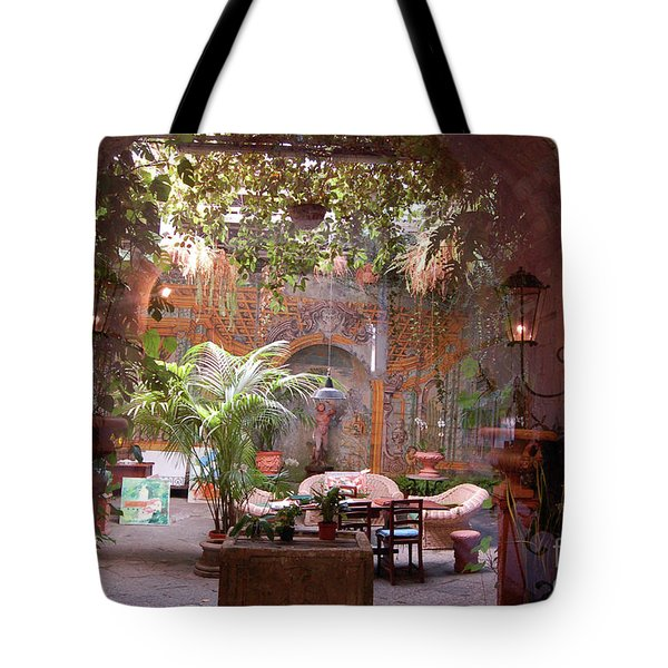 Artists' Studio In Sorrento Italy  Tote Bag