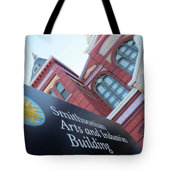 Arts And Industry Museum  Tote Bag