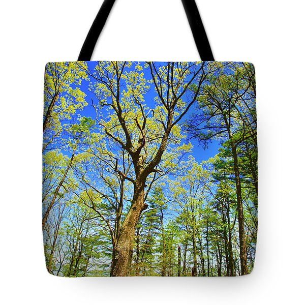 Artsy Tree Series, Early Spring - # 04 Tote Bag