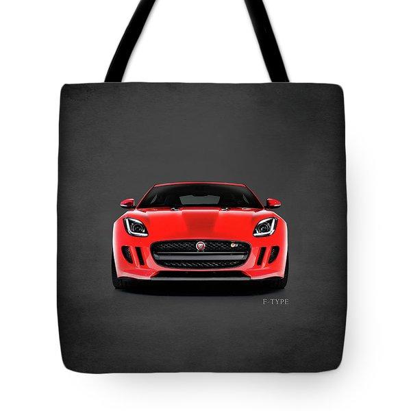 Jaguar F Type Tote Bag