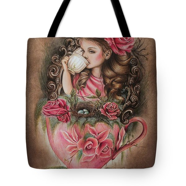 Porcelain Tote Bag by Sheena Pike