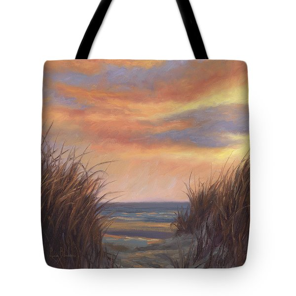 Sunset By The Beach Tote Bag