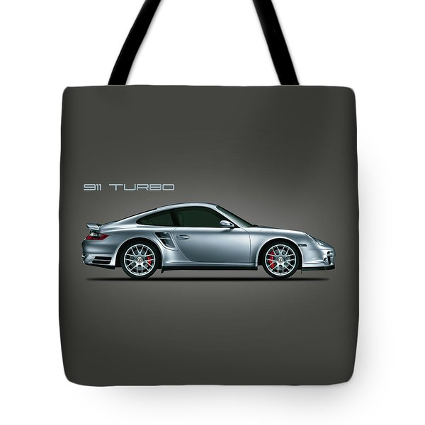 Porsche 911 Turbo Tote Bag